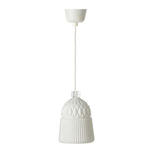 VANADIN Pendant Lamp White IKEA