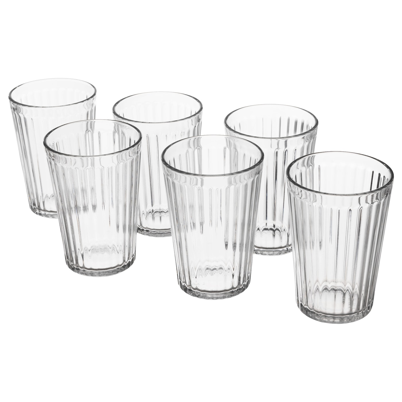 IKEA VARDAGEN glass Also suitable for hot drinks.