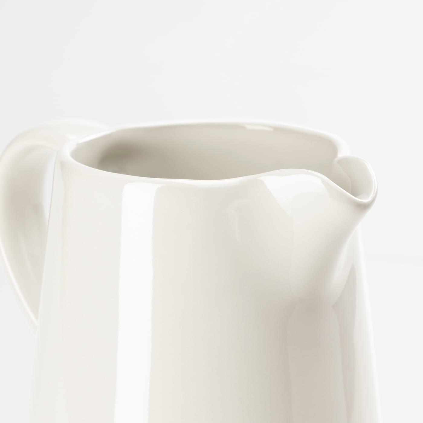 VARDAGEN Milk/cream jug, off-white, 39 cl