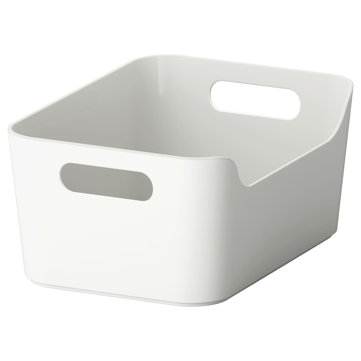 IKEA VARIERA box Easy to clean, with soft rounded corners.