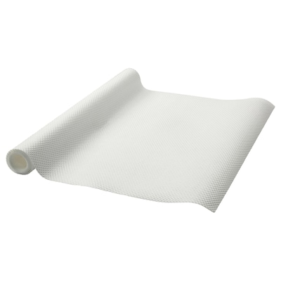VARIERA Drawer mat, white, 150 cm