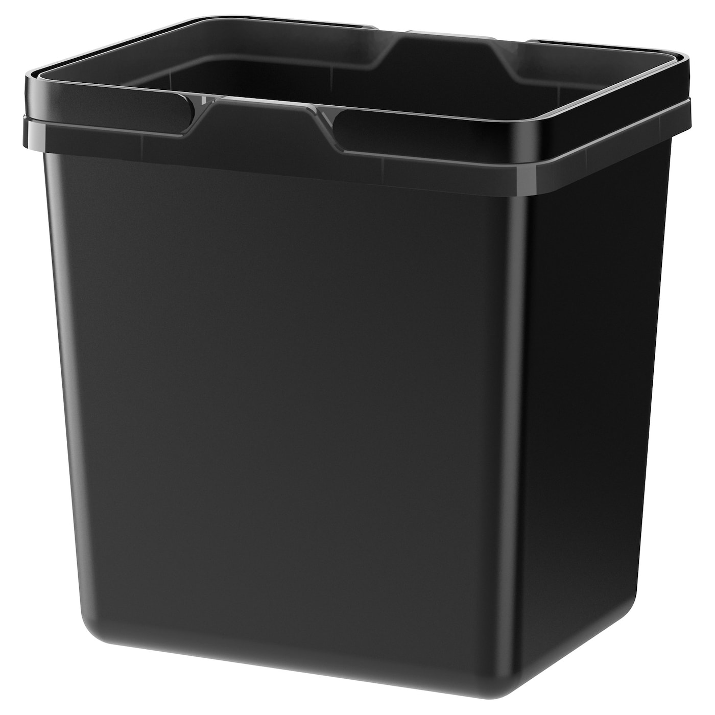 IKEA VARIERA waste sorting bin Rounded corners for easy cleaning.