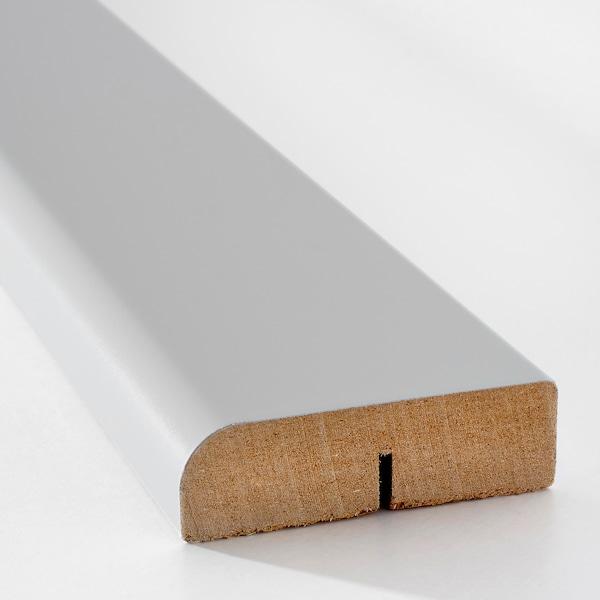VEDDINGE rounded deco strip/moulding grey 221 cm 6 cm 2 cm