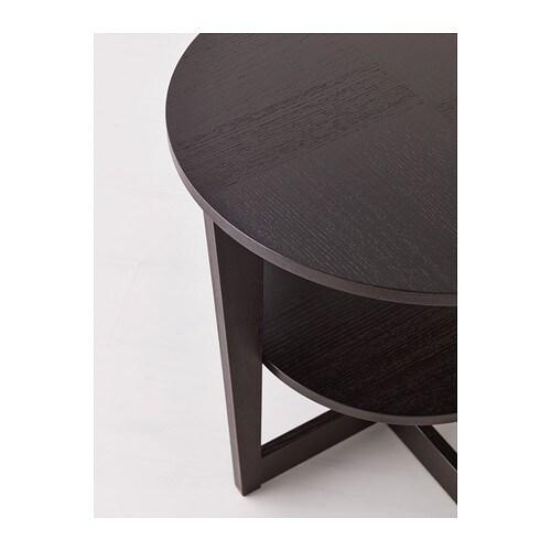 vejmon side table black brown 60 cm ikea. Black Bedroom Furniture Sets. Home Design Ideas