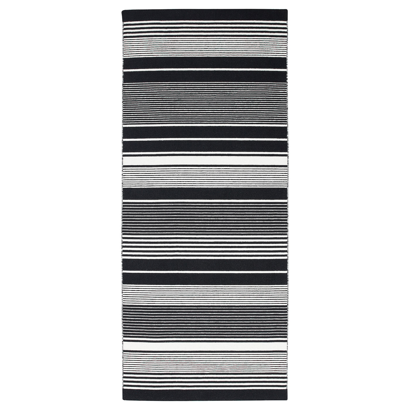 IKEA VESLÖS rug, flatwoven Easy to vacuum thanks to its flat surface.