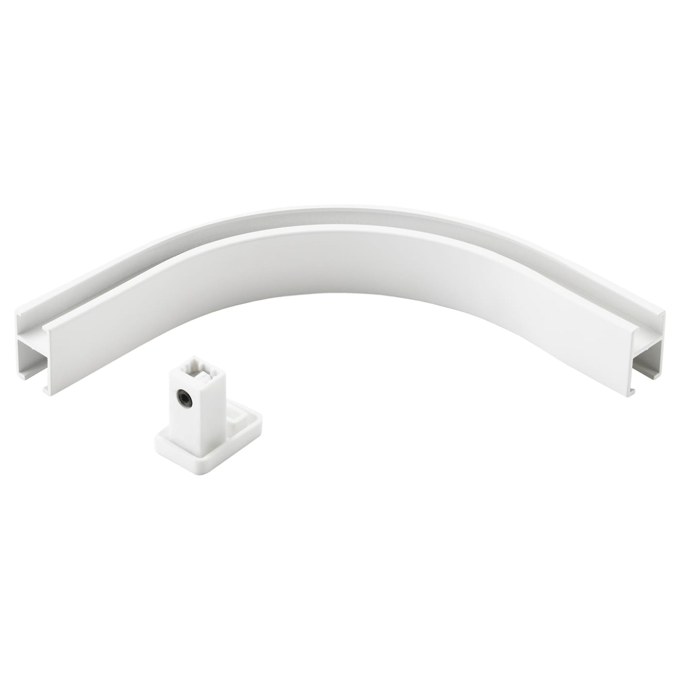 IKEA VIDGA corner piece, single track Makes it possible for curtains to go around corners.
