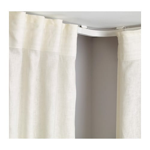 IKEA VIDGA corner set Makes it possible for curtains to go around corners.