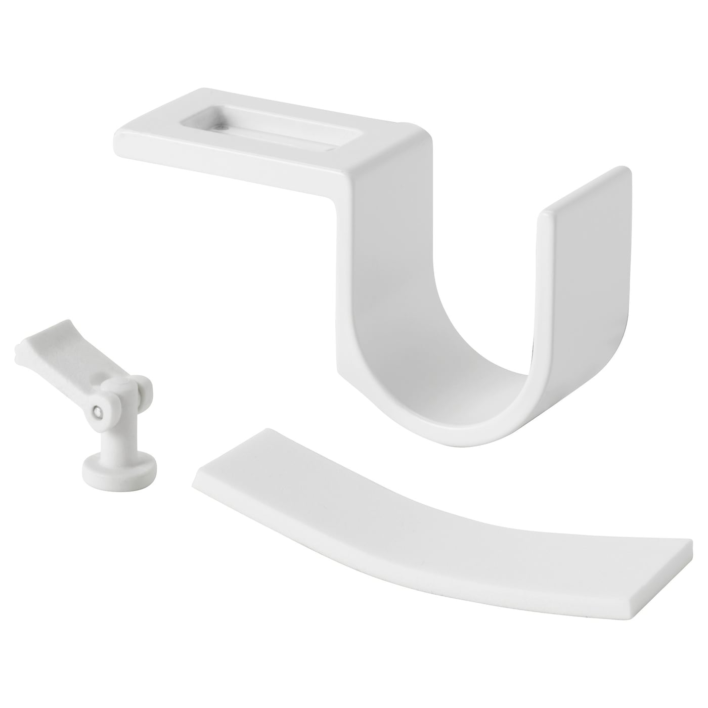 curtains for rods white brackets curtain intended x holders rod wooden sizing shower