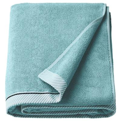 VIKFJÄRD Bath sheet, light blue, 100x150 cm