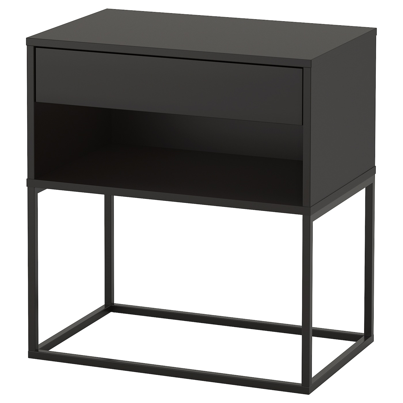 IKEA VIKHAMMER bedside table