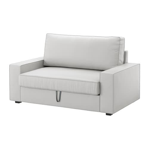 Vilasund two seat sofa bed ramna light grey ikea - Sofa cama 2 plazas precios ...