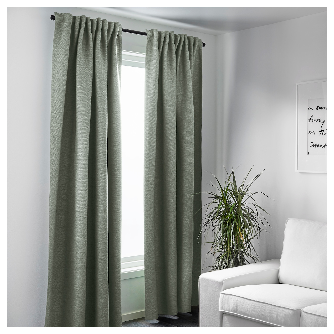 pinterest pair best ideas looking inspiration curtains amazing sweet weight curtain on blinds width ikea about length crazy decor green vilborg