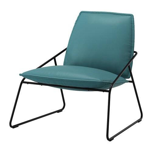Villstad easy chair samsta turquoise ikea - Canape turquoise ikea ...