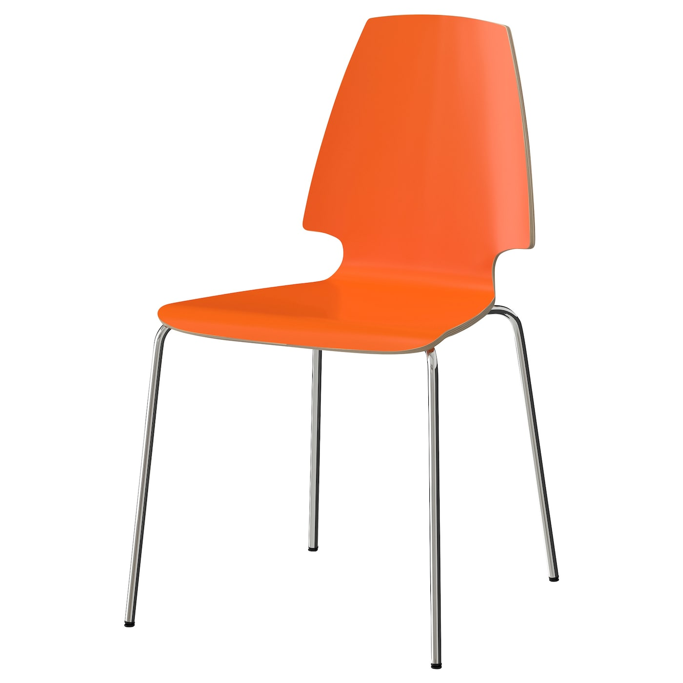 IKEA VILMAR chair The chair's melamine surface makes it durable and easy to keep clean.