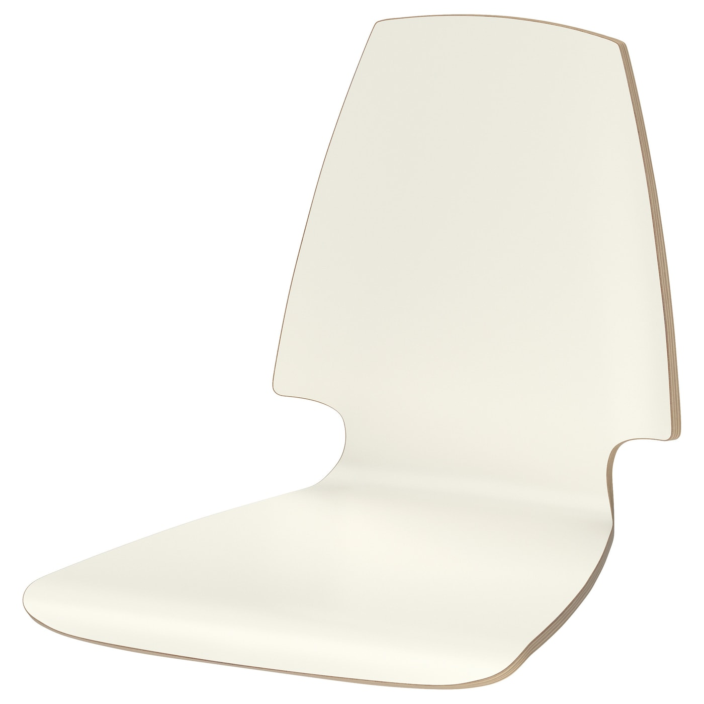 IKEA VILMAR seat shell The chair's melamine surface makes it durable and easy to keep clean.
