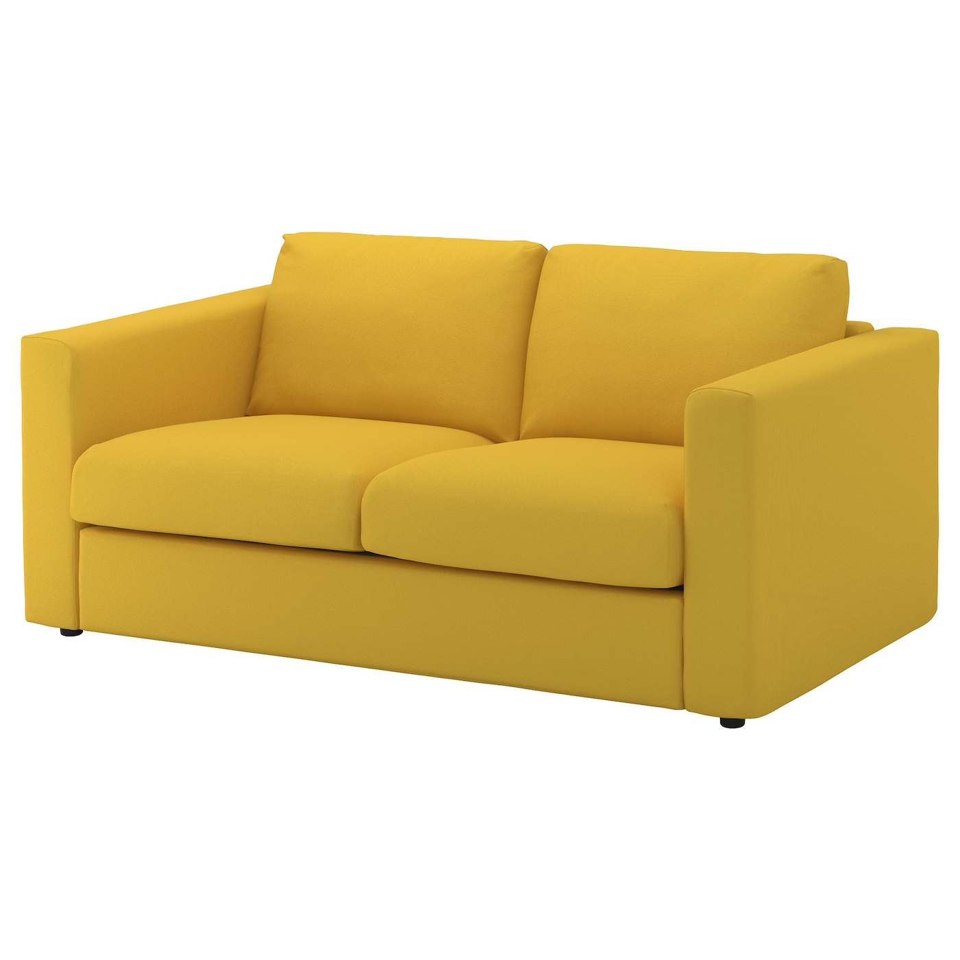 VIMLE Cover for 2 seat sofa Gräsbo golden yellow IKEA