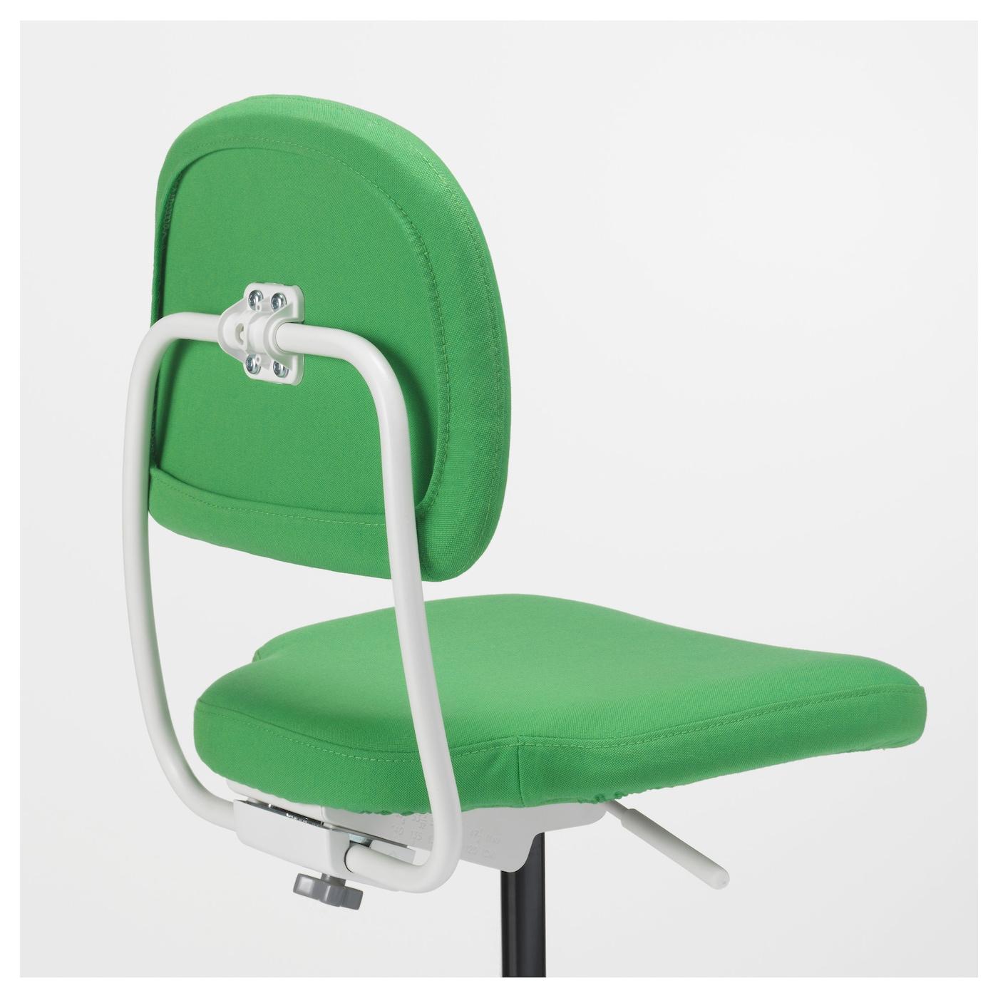 vimund children 39 s desk chair vissle bright green ikea. Black Bedroom Furniture Sets. Home Design Ideas
