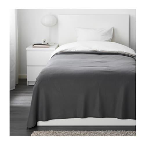 IKEA VINTER 2016 bedspread Fleece is a soft, easy-care material that you can machine wash.