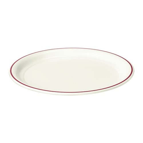 IKEA VINTER 2016 candle dish The candle dish stands steady because it has soft plastic feet.