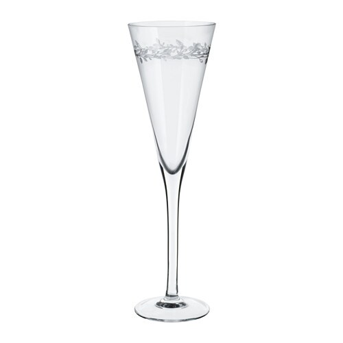 IKEA VINTER 2016 champagne glass