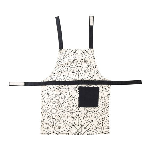 IKEA VINTER 2016 children's apron With practical pocket for storing small items.