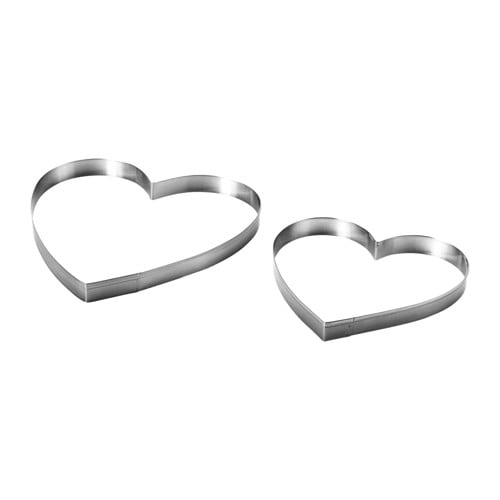 IKEA VINTER 2016 pastry cutter, set of 2