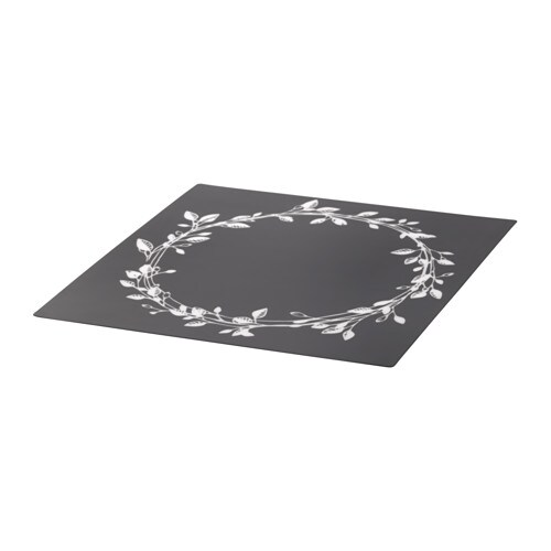 IKEA VINTER 2016 place mat Protects the table top surface and reduces noise from plates and cutlery.