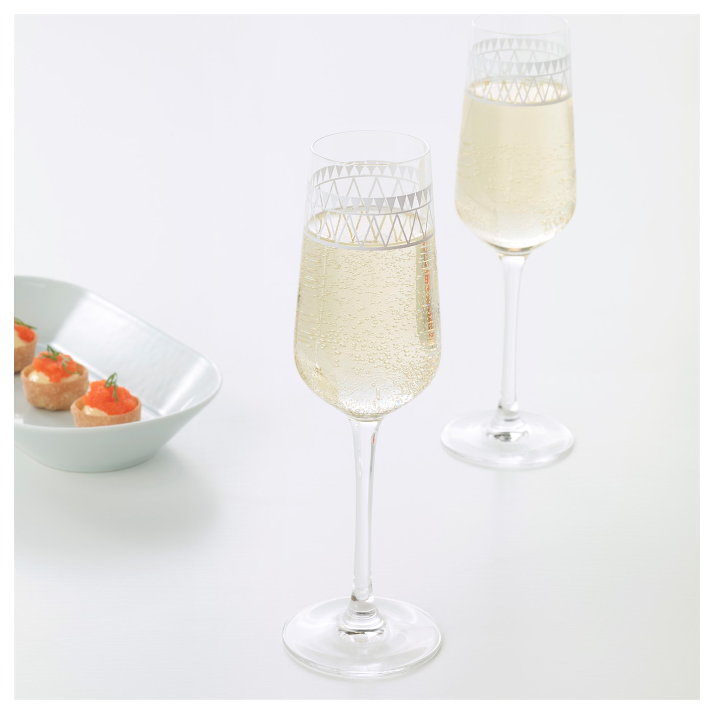 IKEA VINTER 2017 champagne glass