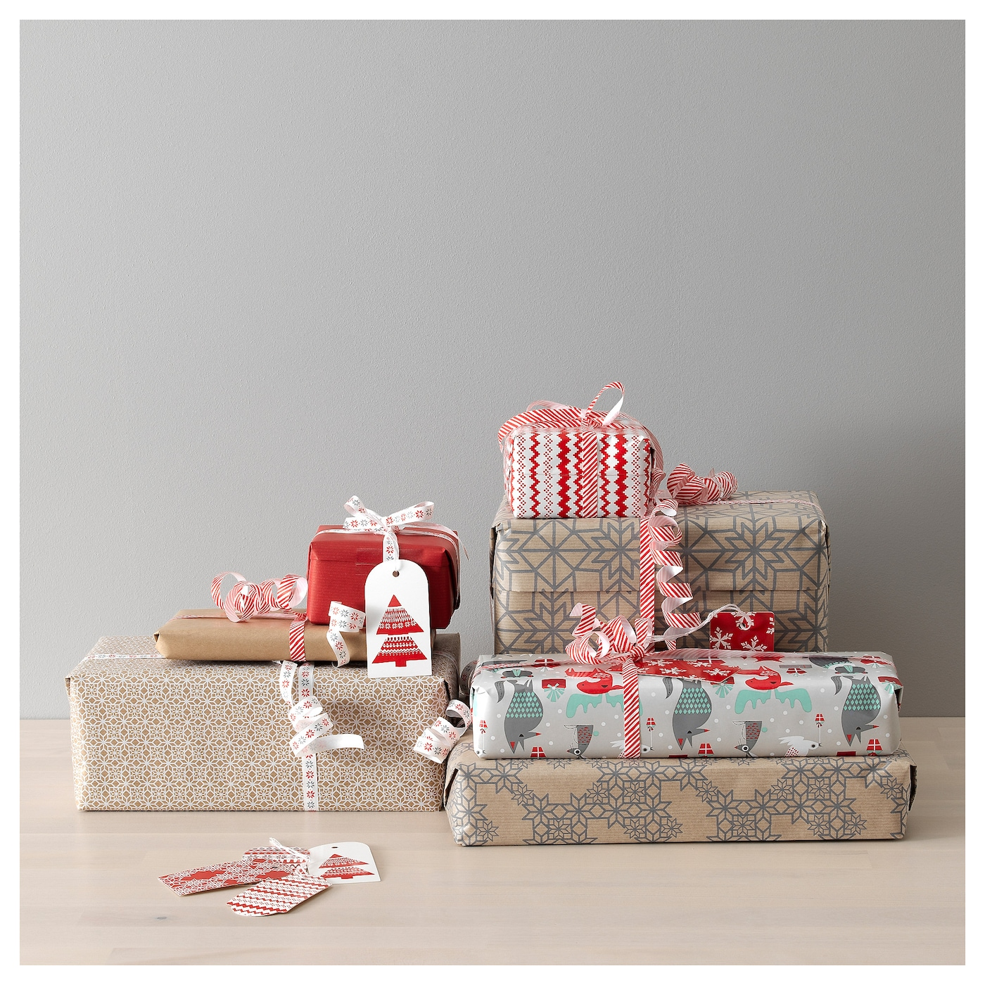 IKEA VINTER 2017 gift ribbon