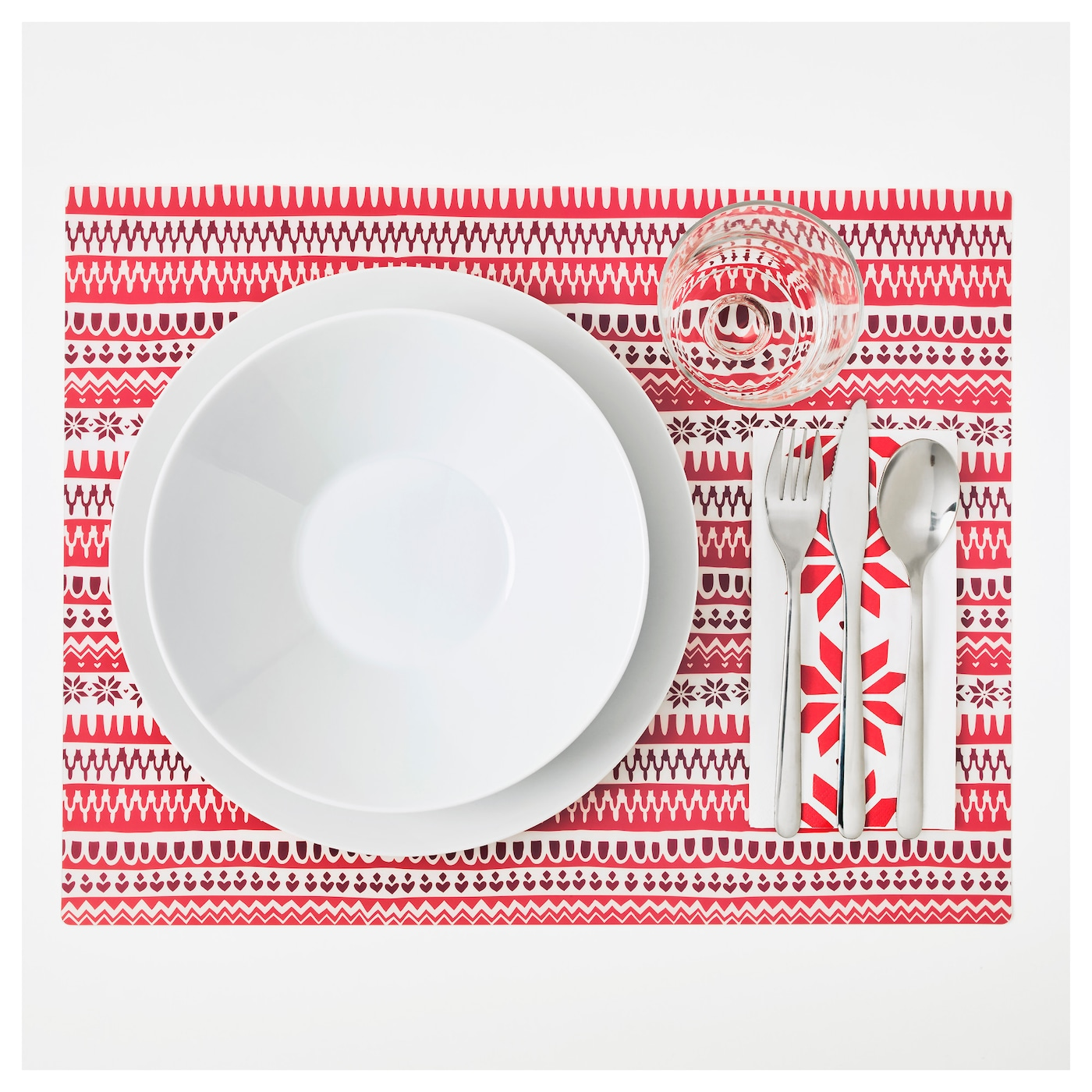 IKEA VINTER 2017 place mat Protects the table top surface and reduces noise from plates and cutlery.