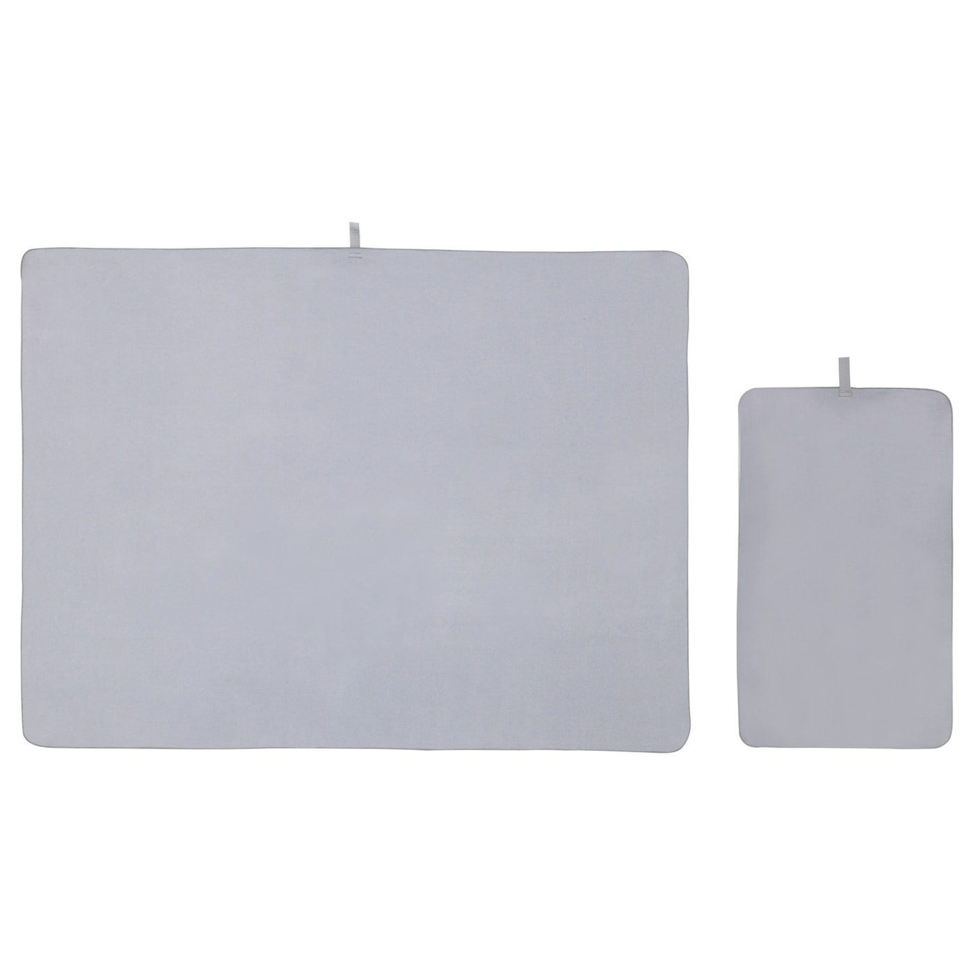 IKEA VINTER 2017 travel towel, set of 2 Hard-wearing microfibre which is soft and smooth.