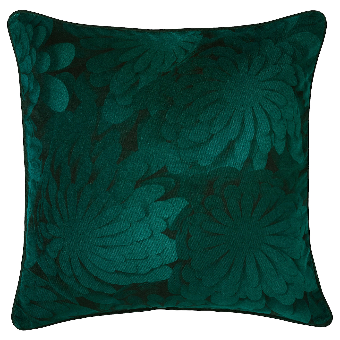 IKEA VINTER 2018 cushion Cotton velvet gives depth to the colour and softness to the touch.