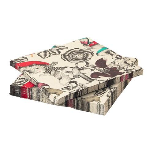 Vinter 2018 Paper Napkin Patterned 33 X 33 Cm Ikea