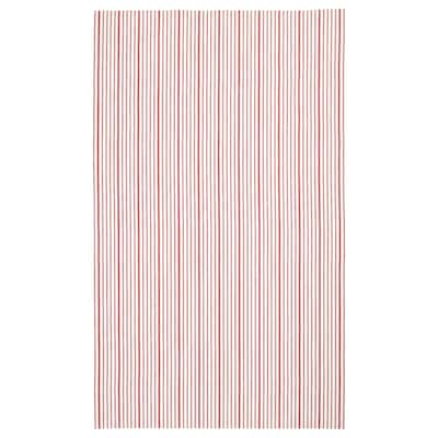 VINTER 2020 Tablecloth, striped red/white, 145x240 cm