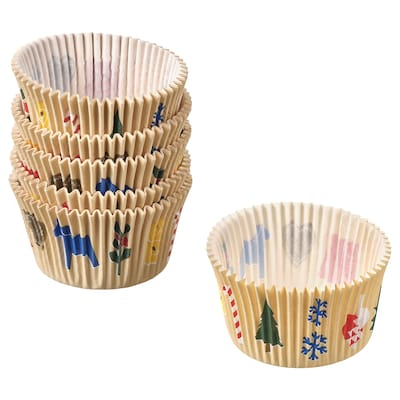 VINTER 2021 Baking cup, Christmas pattern multicolour