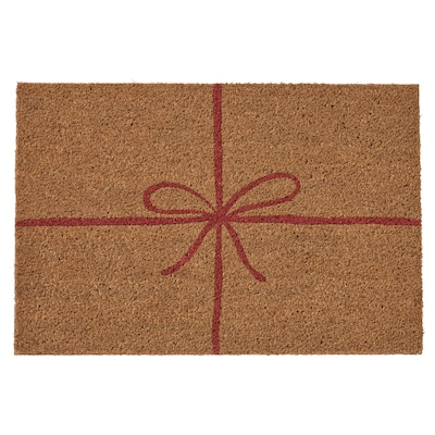 VINTER 2021 Door mat, natural, 40x60 cm