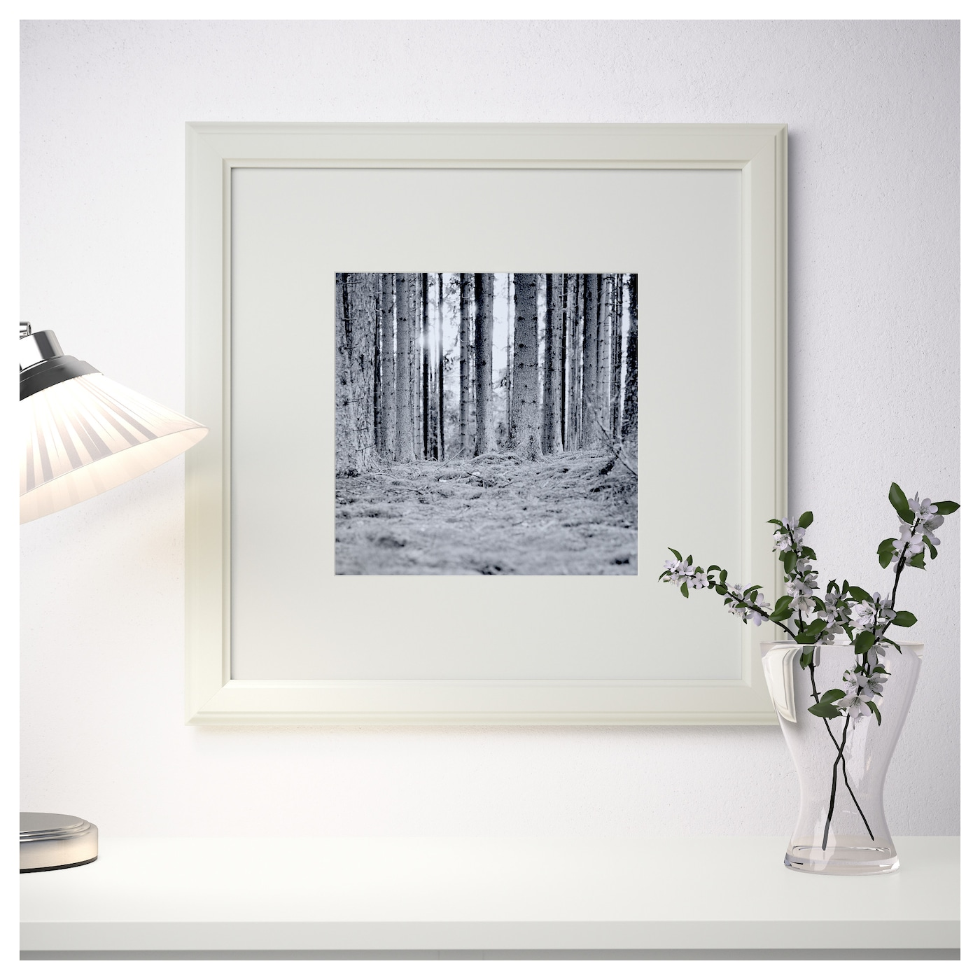 VIRSERUM Frame White 50x50 cm - IKEA