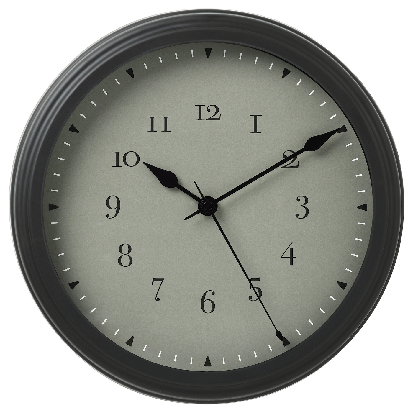 IKEA VISCHAN wall clock No disturbing ticking sounds since the clock has a silent quartz movement.
