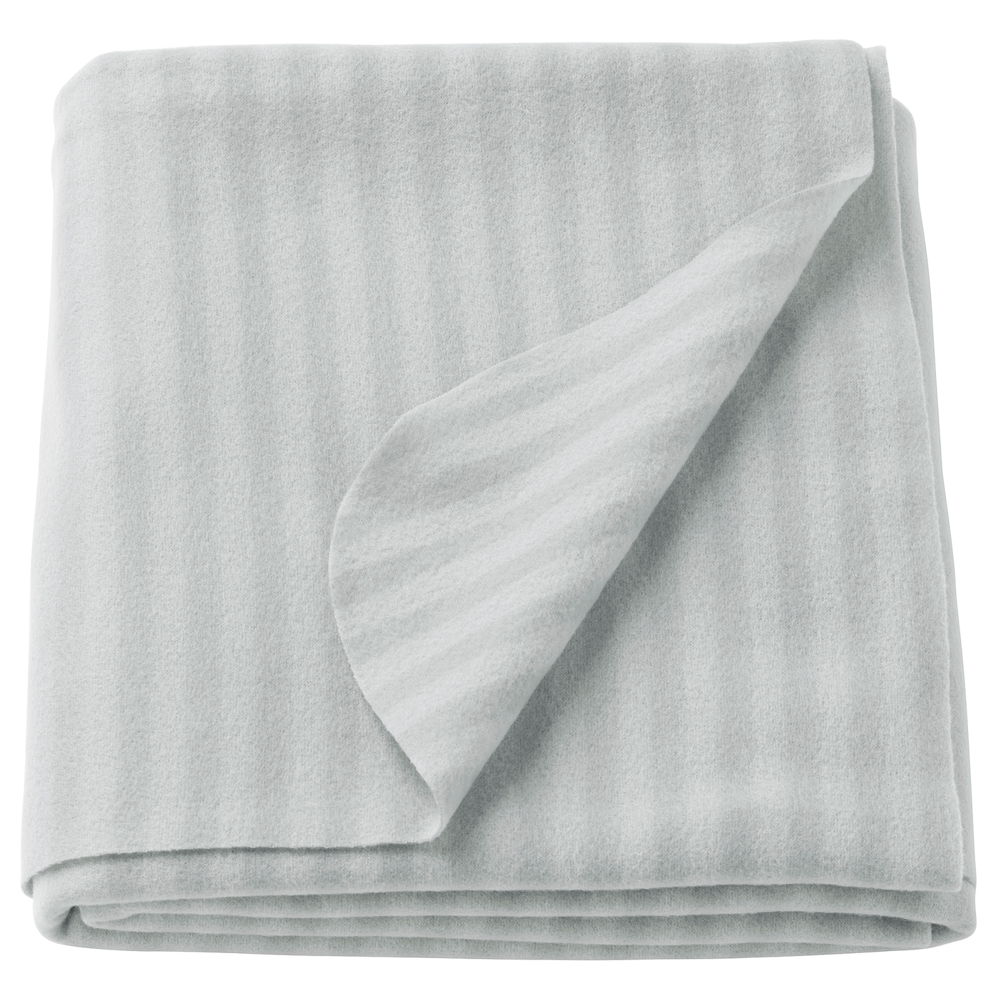 IKEA VITMOSSA throw The fleece throw feels soft against your skin and can be machine washed.