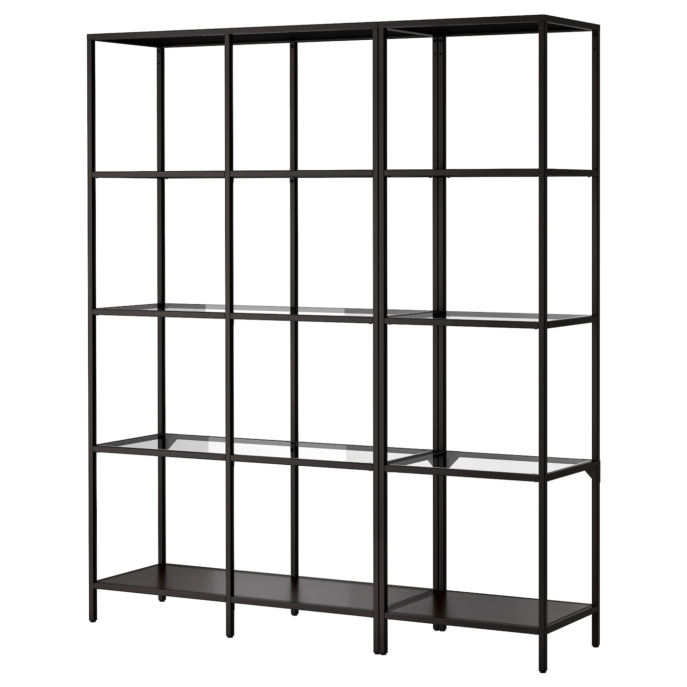 Ikea VittsjÖ Storage Combination Adjule Feet Stands Steady Also On An Uneven Floor