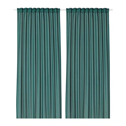 Marvelous IKEA VIVAN Curtains, 1 Pair The Curtains Can Be Used On A Curtain Rod Or