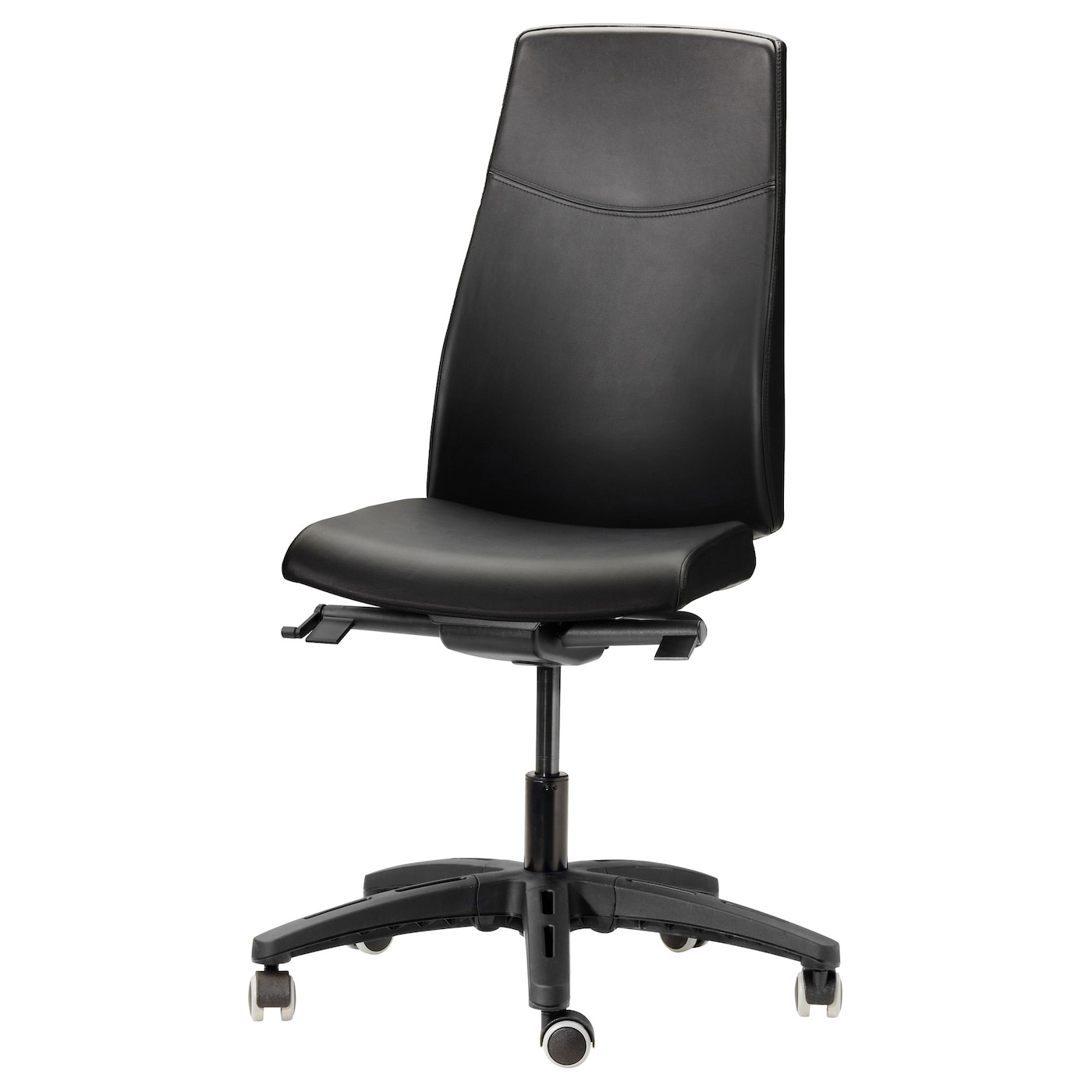 Volmar Swivel Chair Mjuk Black Ikea