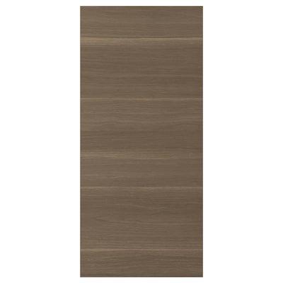 VOXTORP cover panel walnut effect 39.0 cm 86.0 cm 1.4 cm
