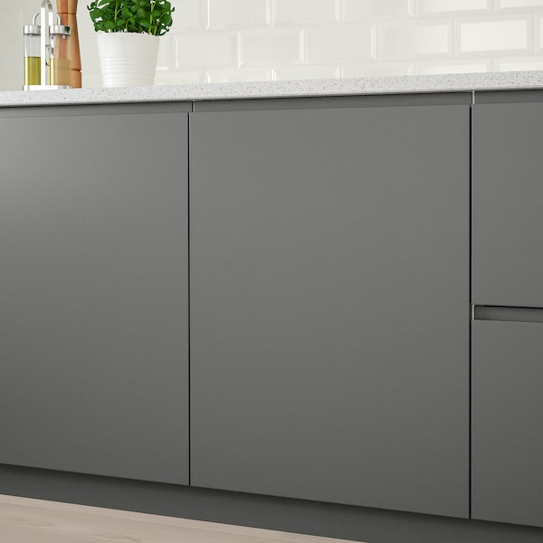 VOXTORP Door, dark grey, 40x80 cm