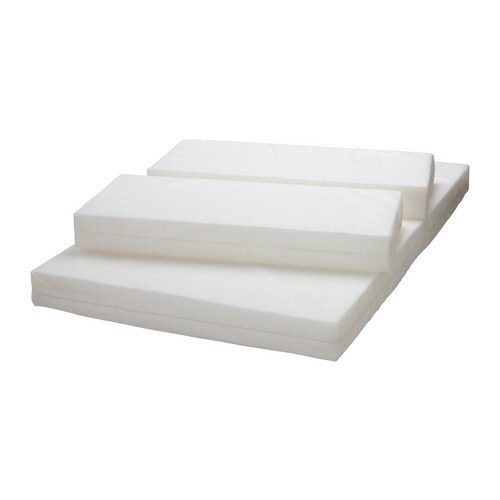Ikea Extendable Toddler Bed Mattress ~ VYSSA SLAPPNA Mattress for extendable bed White 80×200 cm  IKEA