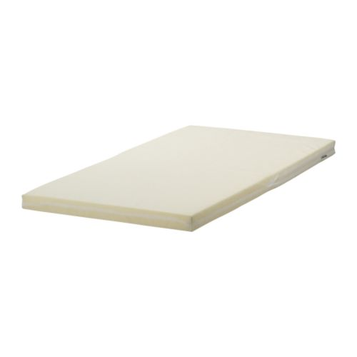 Vyssa slappna mattress for junior bed white 70x160 cm ikea for Juniorbett ikea