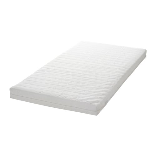 IKEA VYSSA SNOSA mattress for junior bed Breathable cover that is nice and soft against the skin.