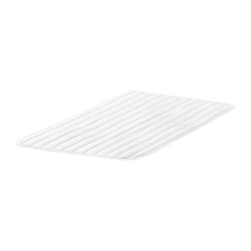 IKEA VYSSA TULTA mattress pad Machine-washable - easy to keep clean.