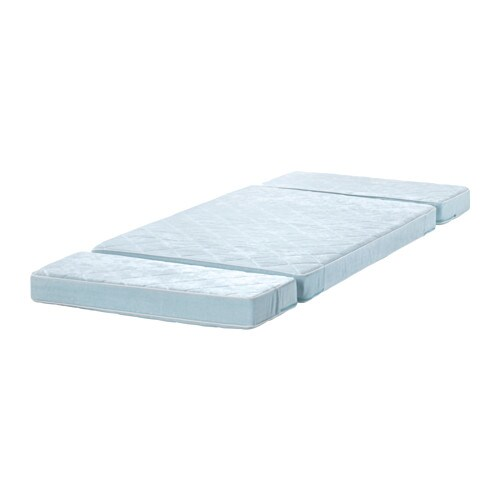 Schlafsofa Jugendzimmer Ikea ~ VYSSA VACKERT Mattress for extendable bed Blue 80×200 cm  IKEA