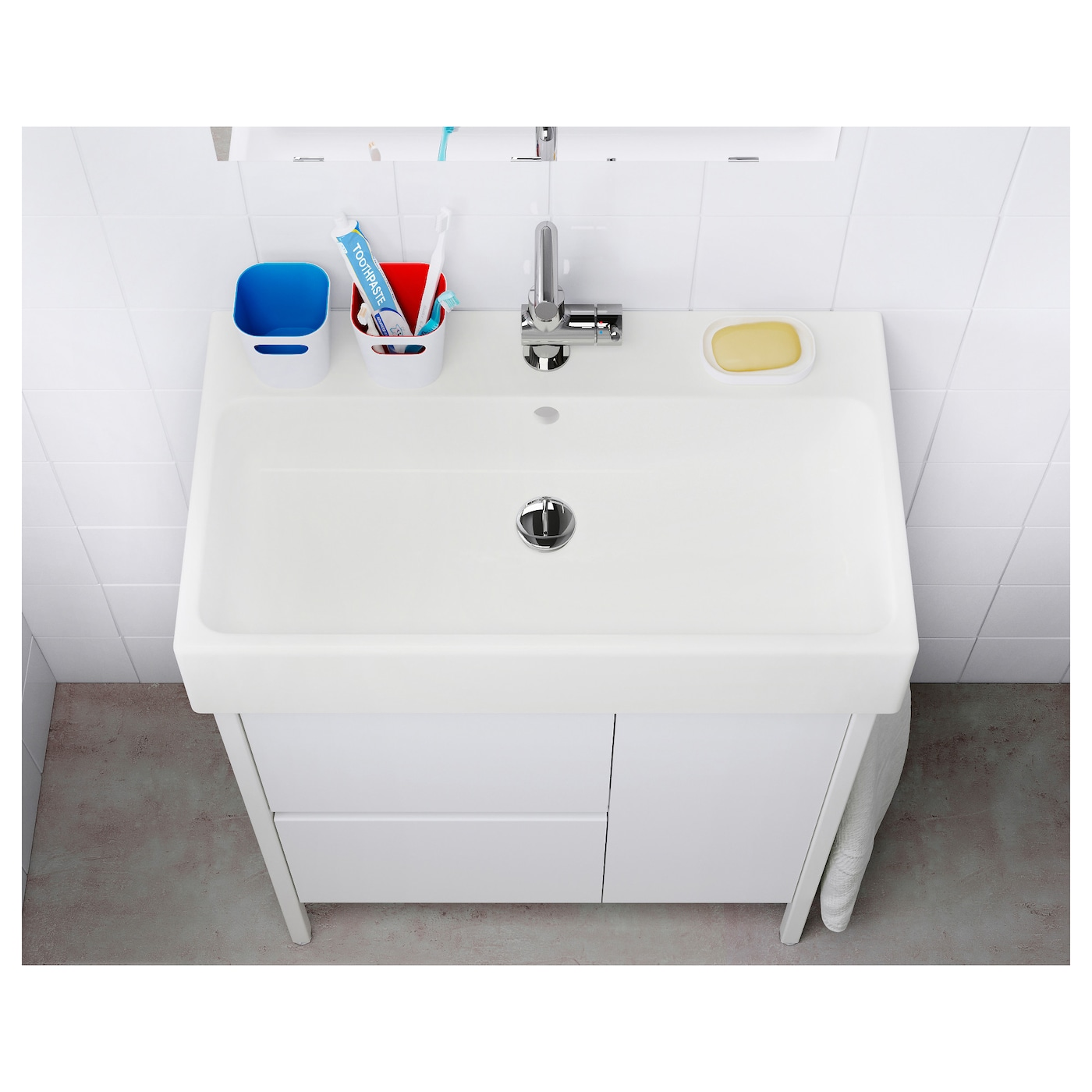 IKEA YDDINGEN Single Wash Basin 10 Year Guarantee. Read About The Terms In  The